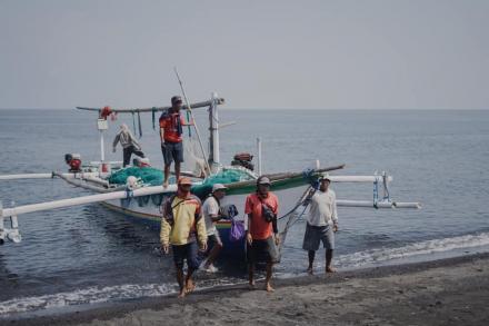 Hasil Laut Melimpah, Jaan Ngoyong di Bungkulan!